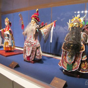 "18 Exhibition view of ""A World of Puppets Donation Exhibition of Puppet Carvings by Xu Zhuchu""  290x290 - Celebrating Chinese New Year by Art: National Art Museum of China launched three New Year Shows in 2016"