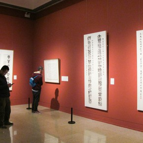 "25 Exhibition view of the ""Heritage of Calligraphy Invitation Exhibition of Contemporary Calligraphy in NAMOC"" 290x290 - Celebrating Chinese New Year by Art: National Art Museum of China launched three New Year Shows in 2016"