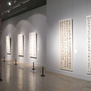 "27 Exhibition view of the ""Heritage of Calligraphy Invitation Exhibition of Contemporary Calligraphy in NAMOC"" 290x290 - Celebrating Chinese New Year by Art: National Art Museum of China launched three New Year Shows in 2016"