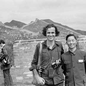 "French photographer Bruno BARBEY with an interpreter. 1973 290x290 - Shanghai Center of Photography announces ""Two Magnum Masters: Berry and Barbey"" opening March 12"