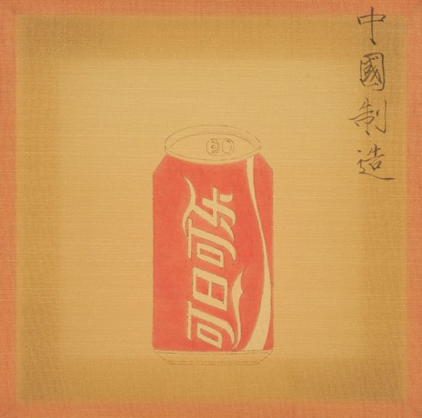 Han Feng, Coca-Cola, 2015; Painting
