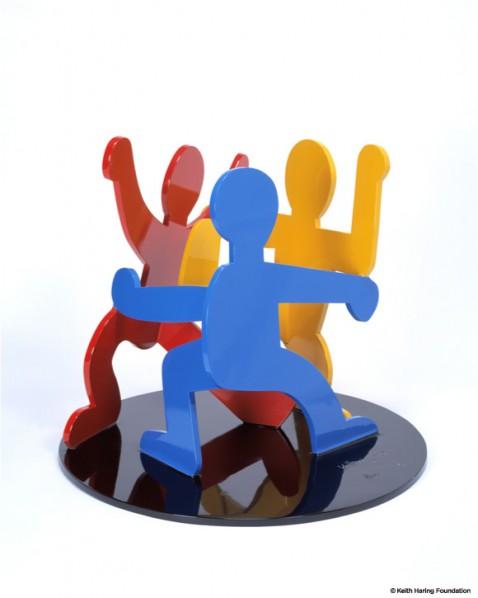 Keith Haring, Three dancing figure, 1989