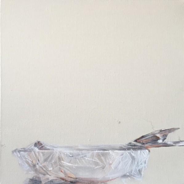 Lu Dan, A Week, 2015; painting