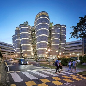 Nanyang Technological University Learning Hub Singapore Evening view of the Learning Hub from Nanyang Drive. Image Credit Hufton Crow 2015. 290x290 - New British Inventors: Inside Heatherwick Studio to be Presented at Taipei Fine Arts Museum