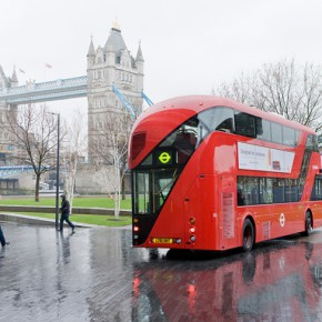 New Bus for London New Bus in front of Tower Bridge Image Credit Iwan Baan 2012 290x290 - New British Inventors: Inside Heatherwick Studio to be Presented at Taipei Fine Arts Museum