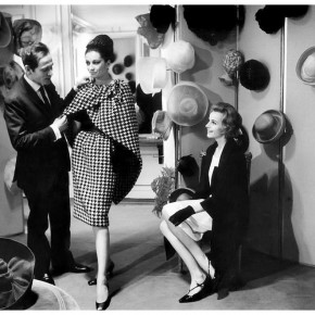 "Pierre Cardin with model at his salon photo by Ian Berry 1962 290x290 - Shanghai Center of Photography announces ""Two Magnum Masters: Berry and Barbey"" opening March 12"
