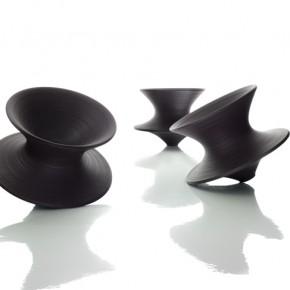 Spun Chairs; Image Credit Magis