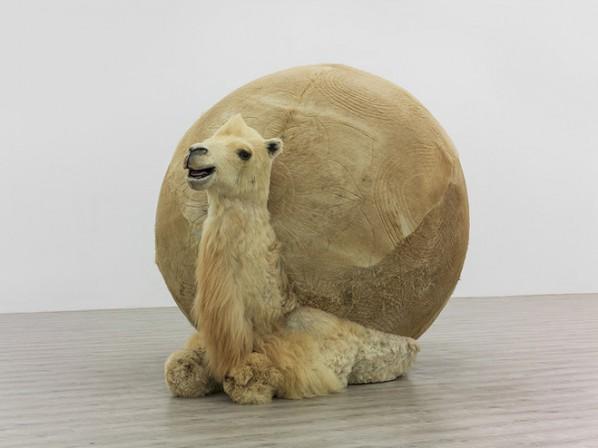 Yang Maoyuan, Camel n°2, mixed media, 2014; Courtesy of the artist & Galerie Paris-Beijing, Paris