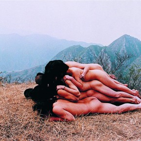Zhang Huan To Add One Meter to an Anonymous Mountain 1995 chromogenic colour print 69 × 103.5cm Courtesy of the artist and West Kowloon Cultural District Authority 290x290 - Four Decades of Chinese Contemporary from M+ Sigg Collection Exhibiting in Hong Kong