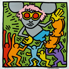 """Keith Haring: Multiplexism"" is on display at Taipei Museum of History"