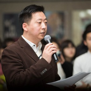 "01 Deputy Director of CAFA Art Museum Tang Bin hosted the opening ceremony 290x290 - Pursuit of Humanistic Care of Daily ""Sitting"": The 7th ""Design for Sitting"" Work Exhibition Unveiled"