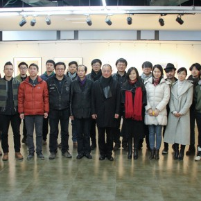 """01 Group photo of the participating artists and honored guests 290x290 - Moving Forward Together: Joint Exhibition of CAFA """"Young Talent Residency Project"""" I & II Unveiled"""