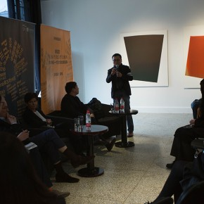 01 View of the special lecture by the jury committee 290x290 - Prix YISHU 8 Chine 2016 Finalist Exhibition Kicked Off, Teacher from CAFA Geng Xue Won the Prize
