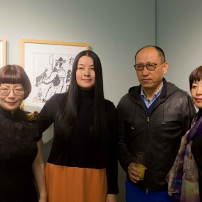 "03 Group Photo of Prof. Ma Gang Art Committee Member of CAFA and Honored Guests 290x290 - ""My Left Hand – Zhu Xinjian"" Exhibition & the Launch of the First Volume of The Complete Works of Zhu Xinjian Landed at Gauguin Gallery"