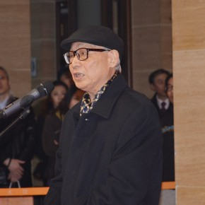 04 Art critic Prof. Shao Dazhen from CAFA 290x290 - Passion and Responsibility – Exhibition of Arts by Situ Qiao and Situ Jie commenced at the National Art Museum of China