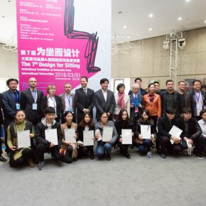 "05 Group photo of honored guests and award winning designers  290x290 - Pursuit of Humanistic Care of Daily ""Sitting"": The 7th ""Design for Sitting"" Work Exhibition Unveiled"