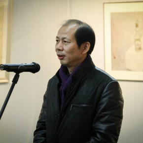 """06 Director of CAFA Yanjiao Management Office Wu Jianpei  290x290 - Moving Forward Together: Joint Exhibition of CAFA """"Young Talent Residency Project"""" I & II Unveiled"""