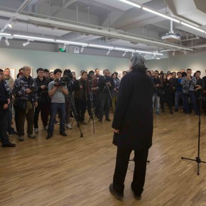 "06 The Opening Ceremony of My Left Hand 290x290 - ""My Left Hand – Zhu Xinjian"" Exhibition & the Launch of the First Volume of The Complete Works of Zhu Xinjian Landed at Gauguin Gallery"