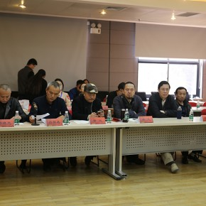 "07 Tutors attended the graduation ceremony and seminar of the 2nd CAFA ""Intangible Cultural Heritage Protection and Modern Life"" (photo courtesy of Zhang Dongping)"