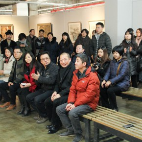 """07 View of the opening ceremony  290x290 - Moving Forward Together: Joint Exhibition of CAFA """"Young Talent Residency Project"""" I & II Unveiled"""