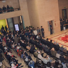 07 View of the opening ceremony 290x290 - Passion and Responsibility – Exhibition of Arts by Situ Qiao and Situ Jie commenced at the National Art Museum of China
