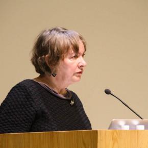 08 Halina Kosciukiewicz, a professor at Akademia Sztuk Pięknych w Gdańsku, Poland