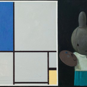 "08 Liu Ye Miffy and Mondrian No. 2 2013 290x290 - Hive Center for Contemporary Art announces ""Too Loud a Solitude:  Stalkers of Chinese Contemporary Art"" opening on March 17"