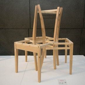 "08 The exhibited work 290x290 - Pursuit of Humanistic Care of Daily ""Sitting"": The 7th ""Design for Sitting"" Work Exhibition Unveiled"