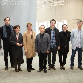 "09 Group photo of honored guests at the opening ceremony 290x290 - ""Anatomy of a Creative Path"" kicked off at CAFA Art Museum: Reviewing the Creative Road of the French Female Sculptor VAL"