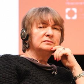 09 Halina Kosciukiewicz, a professor at Akademia Sztuk Pięknych w Gdańsku, Poland