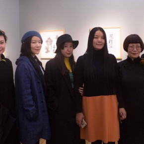 "11 Group Photo of Honored Guests 290x290 - ""My Left Hand – Zhu Xinjian"" Exhibition & the Launch of the First Volume of The Complete Works of Zhu Xinjian Landed at Gauguin Gallery"