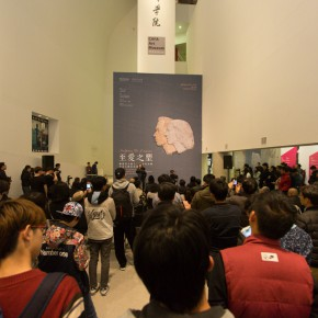 11 The Opening Ceremony 290x290 - Sculpture of Love – Memorial Exhibition of Work and Literature by Wang Linyi and Wang Henei at CAFA
