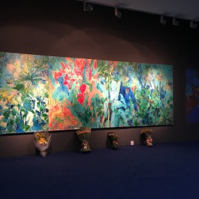 "12 Exhibition View of ""Boundless Growth – Exhibition of Kang Lei's Works "" 290x290 - With a Spreading Posture: Boundless Growth – Exhibition of Kang Lei's Works Warmly Kicked Off at Today Art Museum"