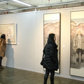 """15 Installation view of the exhibition 290x290 - Moving Forward Together: Joint Exhibition of CAFA """"Young Talent Residency Project"""" I & II Unveiled"""