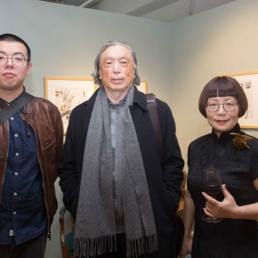 "16 Design Director of x1000 Studio"" Zhu Sha Dong Huiping and academic chair and editor in chief Jia Fangzhou 290x290 - ""My Left Hand – Zhu Xinjian"" Exhibition & the Launch of the First Volume of The Complete Works of Zhu Xinjian Landed at Gauguin Gallery"
