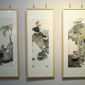 """18 Installation view of the exhibition 290x290 - Moving Forward Together: Joint Exhibition of CAFA """"Young Talent Residency Project"""" I & II Unveiled"""
