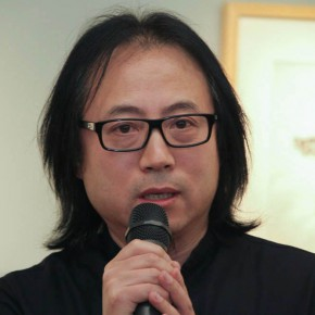 "21 Art Advisor and Editorial Member Tan Hui addressed 290x290 - ""My Left Hand – Zhu Xinjian"" Exhibition & the Launch of the First Volume of The Complete Works of Zhu Xinjian Landed at Gauguin Gallery"