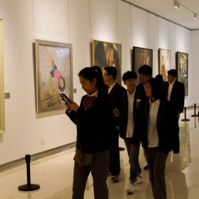 "26 Exhibition view of The Temperature of History CAFA and Chinese Representative Oil Paintings Shandong Art Museum 290x290 - ""The Temperature of History"" Opened at Shandong Art Museum with Representational Oil Paintings Warming the Earth of Shandong"