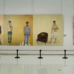 """29 Exhibition view of The Temperature of History CAFA and Chinese Representative Oil Paintings Shandong Art Museum 290x290 - """"The Temperature of History"""" Opened at Shandong Art Museum with Representational Oil Paintings Warming the Earth of Shandong"""