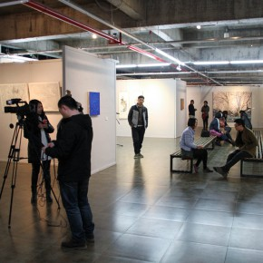 """33 Installation view of the exhibition 290x290 - Moving Forward Together: Joint Exhibition of CAFA """"Young Talent Residency Project"""" I & II Unveiled"""