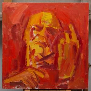 34 Shi Yu, Vibrato of the Devil No.13, oil on canvas, 50 x 50 cm, 2015