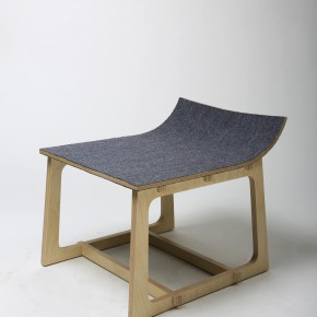 """35 Xu Xin Stool with a Warped Head 290x290 - Pursuit of Humanistic Care of Daily """"Sitting"""": The 7th """"Design for Sitting"""" Work Exhibition Unveiled"""