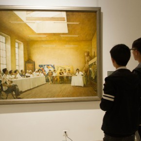 """38 Exhibition view of The Temperature of History CAFA and Chinese Representative Oil Paintings Shandong Art Museum 290x290 - """"The Temperature of History"""" Opened at Shandong Art Museum with Representational Oil Paintings Warming the Earth of Shandong"""