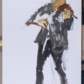 41 Shi Yu, Vibrato of the Devil No.6, oil on canvas, 90 x 60 cm, 2015