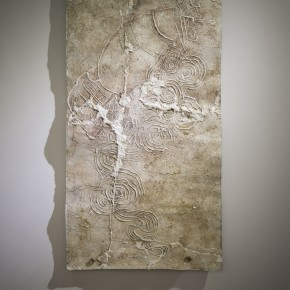 """Deng Dafei Stone Carving of Thunder Carving of Ruins rubbing on rice paper 170 x 97cm 290x290 - BETWEEN ART LAB presents Deng Dafei's """"Project of Ruin: Barbarous Regeneration"""""""