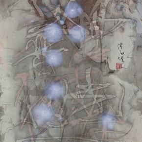 LR.Pekin Fine Arts. Wesley Tongson. Calligraphy. 60x40cm.1992.Chinese Calligraphy 290x290 - Pékin Fine Arts presents Wesley Tongson Solo Exhibition in Beijing
