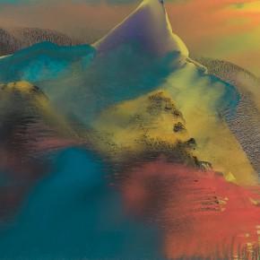 LR.Pekin Fine Arts. Wesley Tongson. Landscape. 66x96cm.2000.Chinese Ink Painting 290x290 - Pékin Fine Arts presents Wesley Tongson Solo Exhibition in Beijing