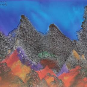 LR.Pekin Fine Arts. Wesley Tongson. Landscape. 66x96cm.2001.Chinese Ink Painting 290x290 - Pékin Fine Arts presents Wesley Tongson Solo Exhibition in Beijing