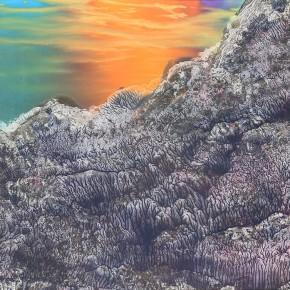 LR.Pekin Fine Arts. Wesley Tongson. Landscape. 66x96cm.2002.Chinese Ink Painting 290x290 - Pékin Fine Arts presents Wesley Tongson Solo Exhibition in Beijing