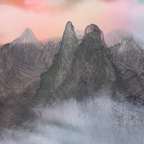LR.Pekin Fine Arts. Wesley Tongson. Mountain Has Love. 66x96cm.1993.Chinese Ink Painting 290x290 - Pékin Fine Arts presents Wesley Tongson Solo Exhibition in Beijing